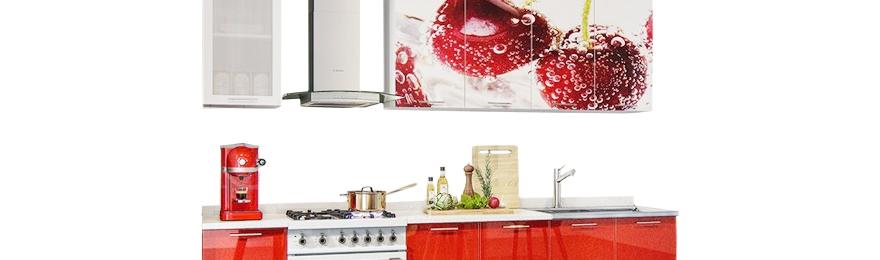 Кухонные гарнитуры с фотопечатью