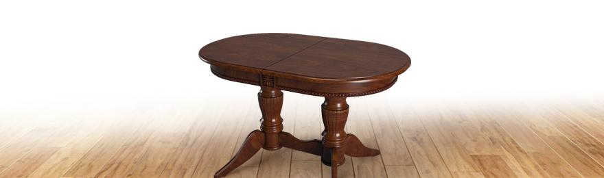 Дизайнерские столы из натурального дерева