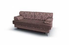 Прямой диван еврокнижка Норд. Choco