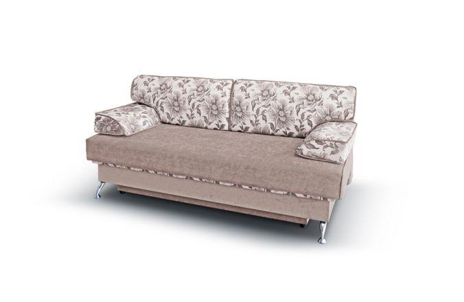 Прямой диван еврокнижка Норд. Beige