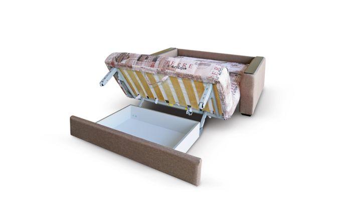 Малогабаритный диван Вегас 1,74 м. Ящик для белья