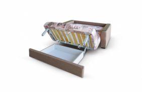 Малогабаритный диван Вегас 1.54 м. Ящик для белья