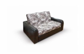 Малогабаритный диван Вегас 1.54 м. Print choco