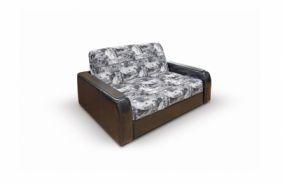Малогабаритный диван Вегас 1.54 м. Print grafit
