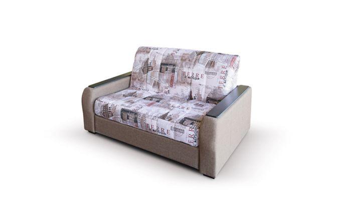 Малогабаритный диван Вегас 1.54 м. Print beige