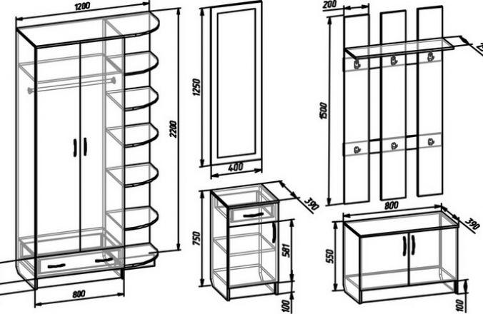 2–створчатый шкаф 7 (В)