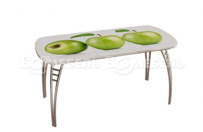 Стол обеденный Паук (трансформер), Яблоки ст-283