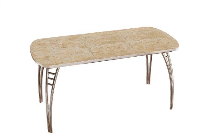 Стол обеденный Паук пластик раздвижной (трансформер) Аламбра