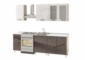 Кухня 2,4 м МДФ - Шармель