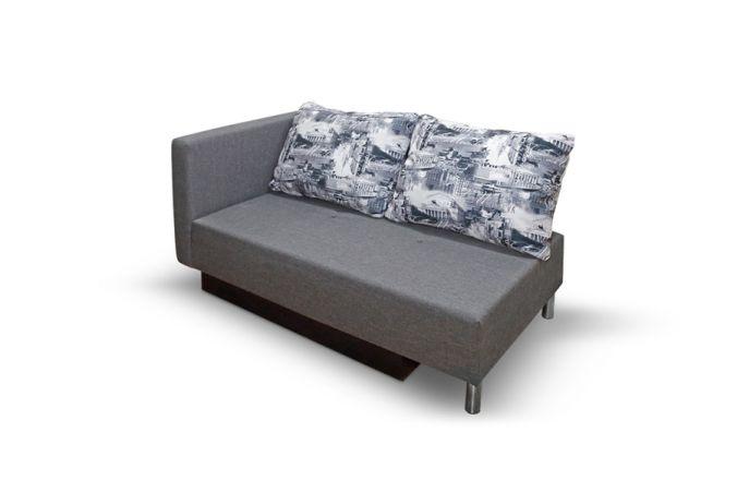 Малогабаритный диван Алиса. Print grafit