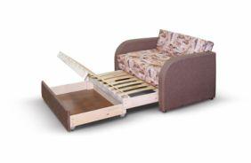 Малогабаритный диван Флинт. Ящик для белья