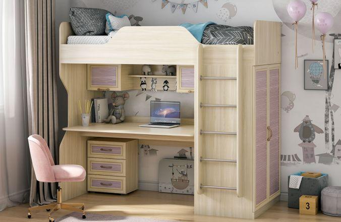 Кровать - чердак Инесса Классика. Композиция 1