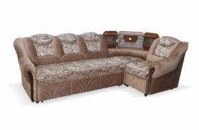 Угловой диван Лаура с баром