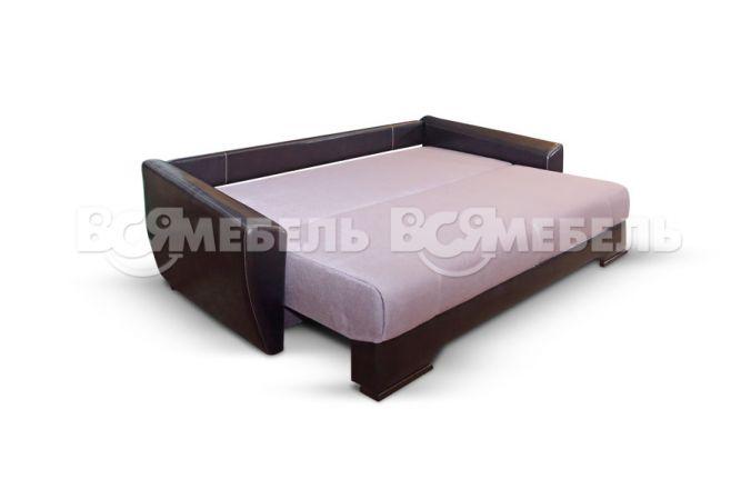 Прямой диван еврософа Николь. Ткань: Bristol 05, Bliz 10, Molero 320