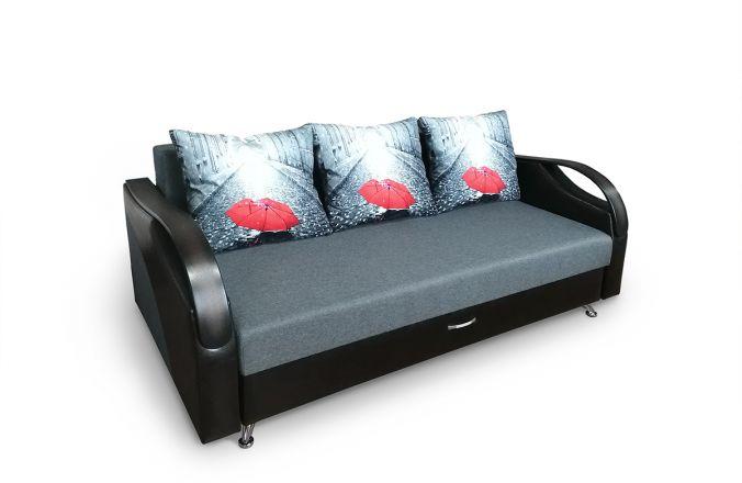 Прямой выкатной диван Леон Люкс
