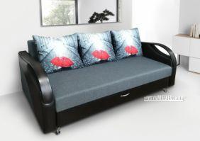 Прямой выкатной диван