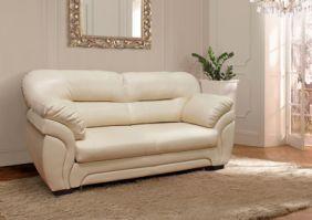Белый диван из эккожи