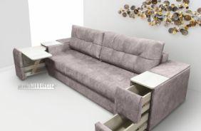 Прямой диван Риф. Кашемир