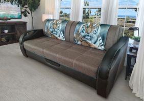 Прямой диван без боковин