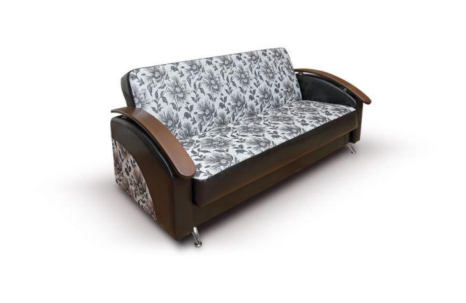 Прямой пружинный диван Лотос, МДФ. Ткань: Linda 2, Molero 320