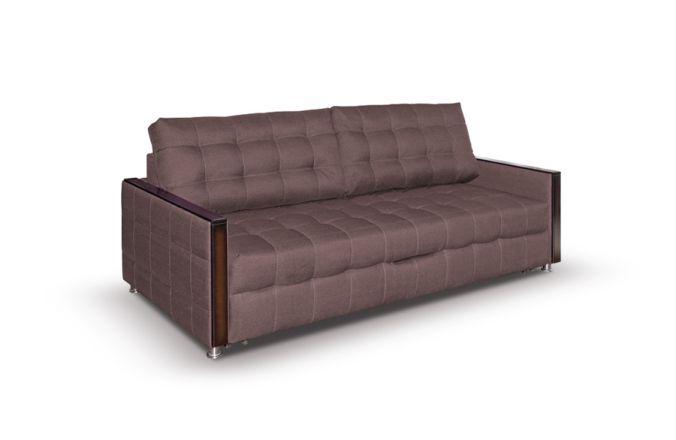 Прямой диван Луксор. Choco