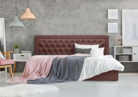Двуспальная дизайнерская кровать