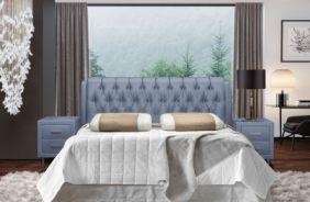 Кровать Клеопатра. Ткань Velutto 12
