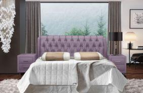 Кровать Клеопатра. Ткань Velutto 11
