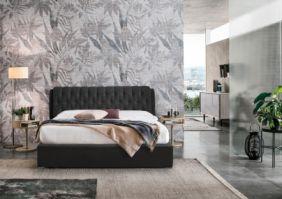 Кровать двуспальная с хранением