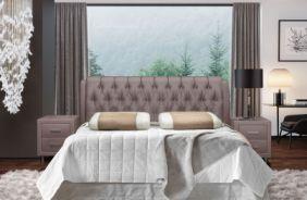 Кровать Клеопатра-2. Ткань Velutto 06