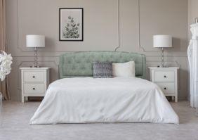 Кровать 160х200 с мягким изголовьем