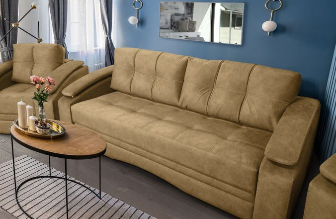 Прямой диван Мадрид Lambre. Ткань: Lambre 09