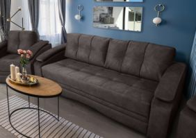 Прямой диван тик-так