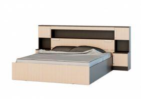 Кровать Бася с надстройкой 1.6 м