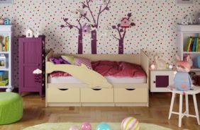 Детская кровать Дельфин 1. Ваниль