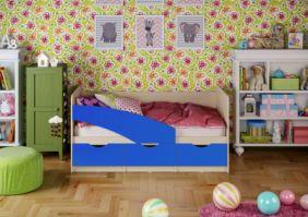 Детская кровать Бабочки (матовый) 1.8 м