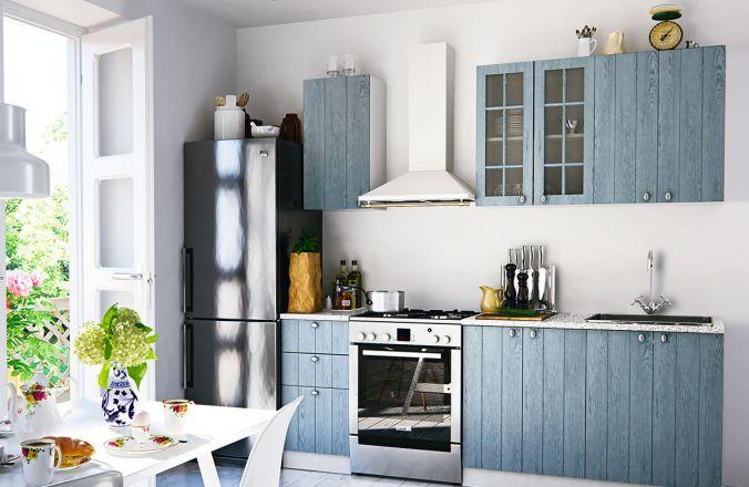 Кухня Техно 1. Готовое решение 2,0