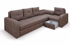 Угловой диван премиум Адель. Choco