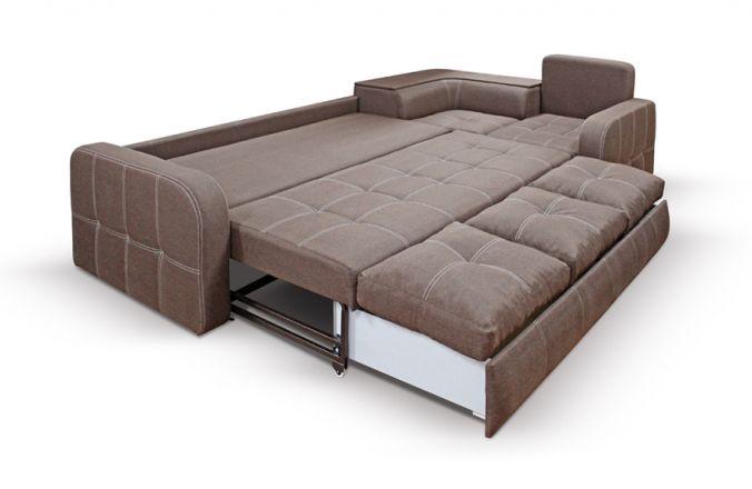 Угловой диван премиум Адель. Спальное место 1920х1600мм