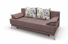 Прямой диван еврокнижка Норд-П. Choco