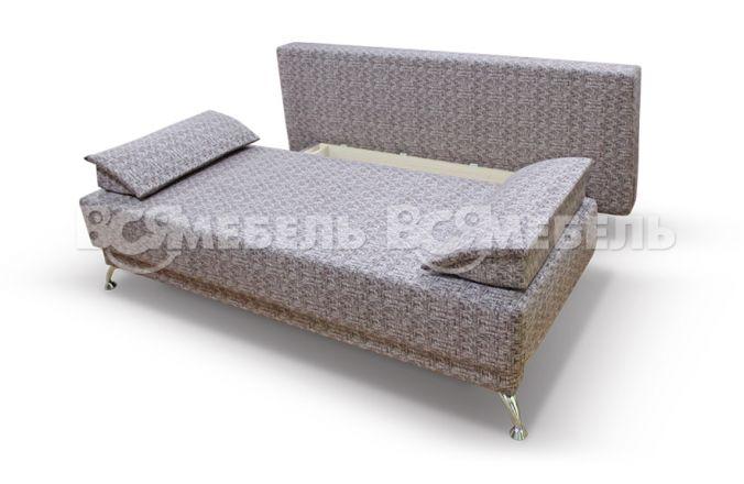 Прямой диван еврокнижка Норд-П. Ящик для белья