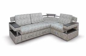 Угловой диван с полками Борнео-1. Grafit