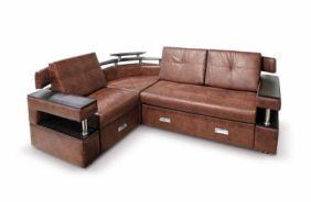 Угловой диван с полками Борнео-1. Сhoco