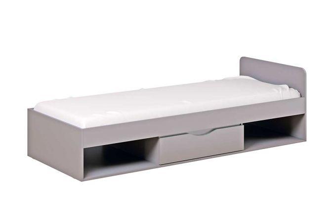 Кровать Неаполь с ящиками. Серый