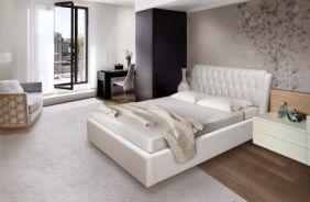 Спальная кровать Клеопатра 1.6 м  (Д)