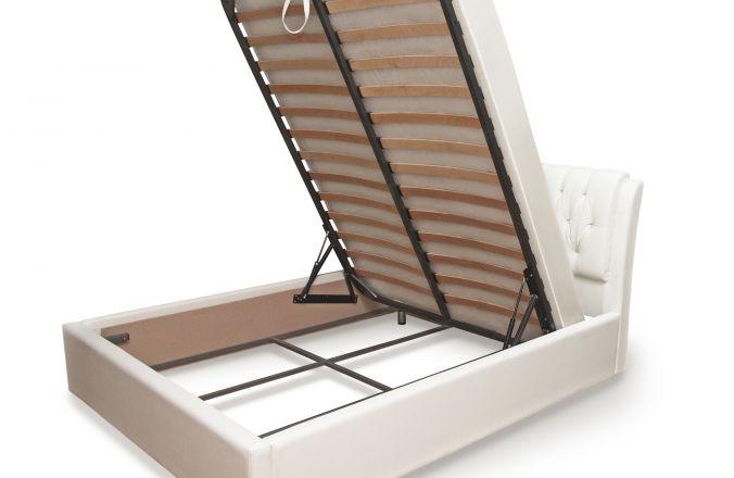Мягкая кровать Клеопатра с подъемным механизмом