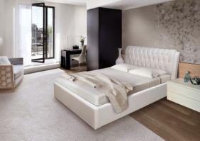 Мягкая кровать Клеопатра 1.8 м  (Д)