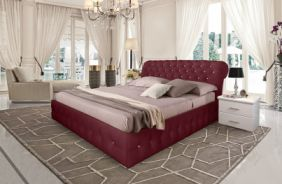 Кровать Корсика. Ткань Velutto 29