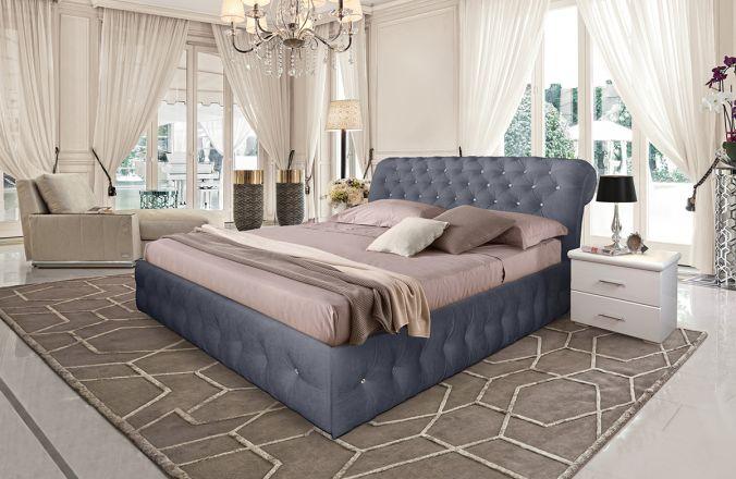 Кровать Корсика. Ткань Velutto 32