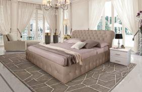Кровать Корсика. Ткань Velutto 05